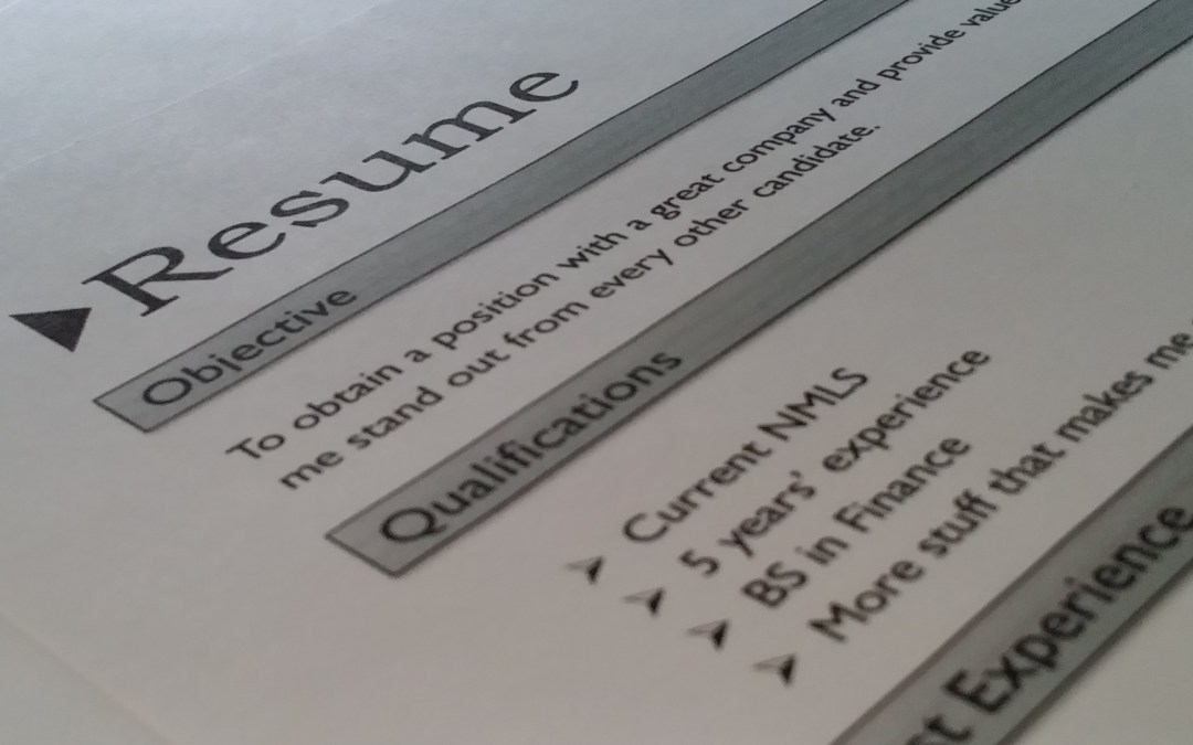 resume guidelines cooper associates