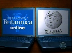 Wikipedia, Britannica, Citizendium