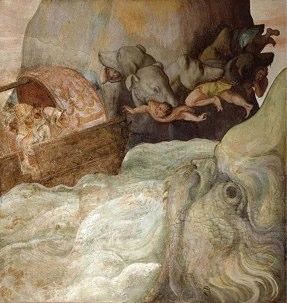 Charybde et Scylla par Alessandro Allori