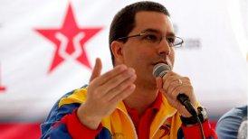 """El vicepresidente de Venezuela, Jorge Arreaza, afirmó que tanto la CIDH como la CorteIDH son """"protectores de intereses de los poderosos""""."""