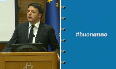 #BuonAnno: le slides della conferenza stampa di Matteo Renzi