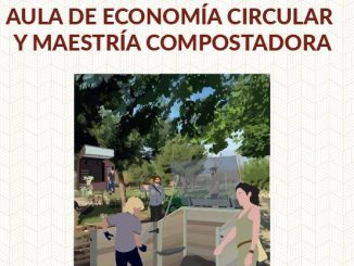 Cartel formación economía circular y maestría compostadora Dehesa de la Villa
