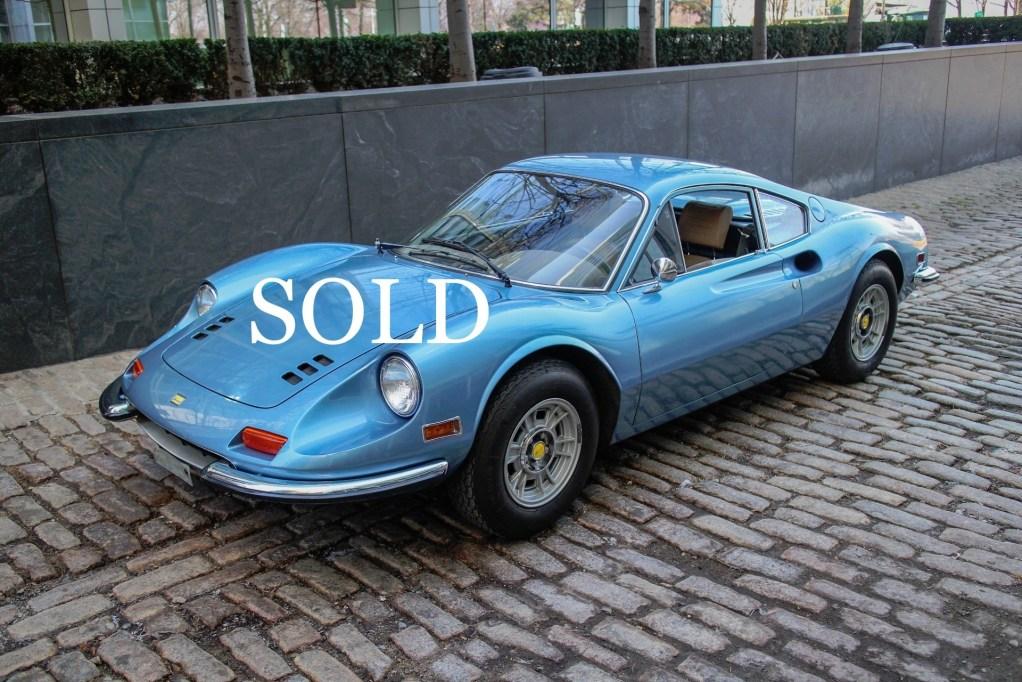 1972 Ferrari Dino 246GT Stock # 764 for sale near New York ...