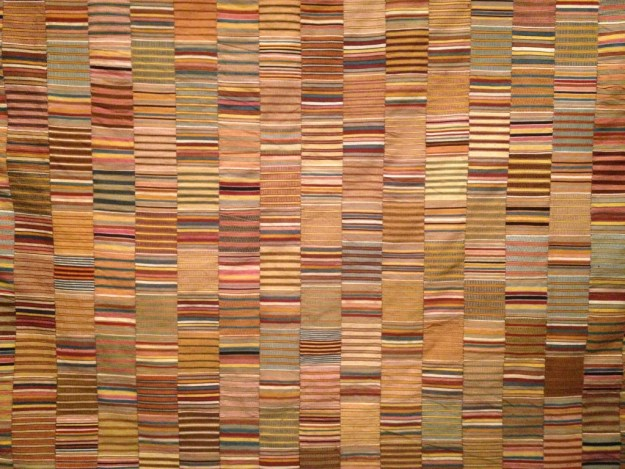 Kente prestige cloth, Ghana, early to mid 1900s. Cooper-Hewitt Smithsonian Design Museum (18705685))