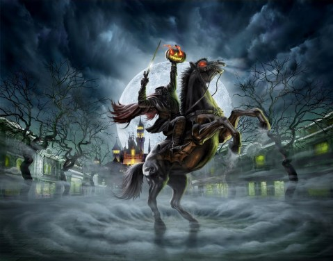 pumpkin Head headless horseman