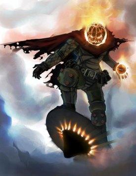 Pumpkin Head Jack O Lantern