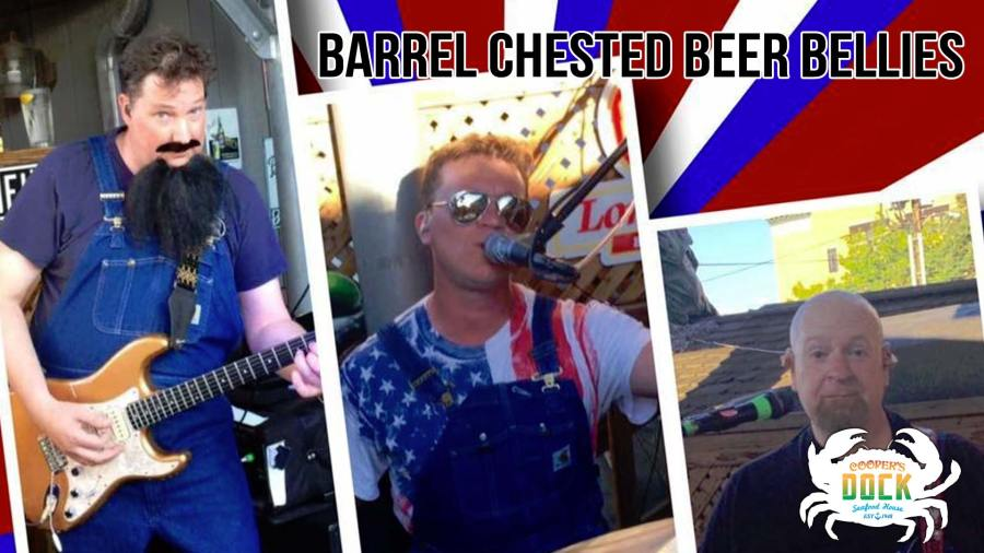 Barrel Chested Beer Bellies on Coopers Dock