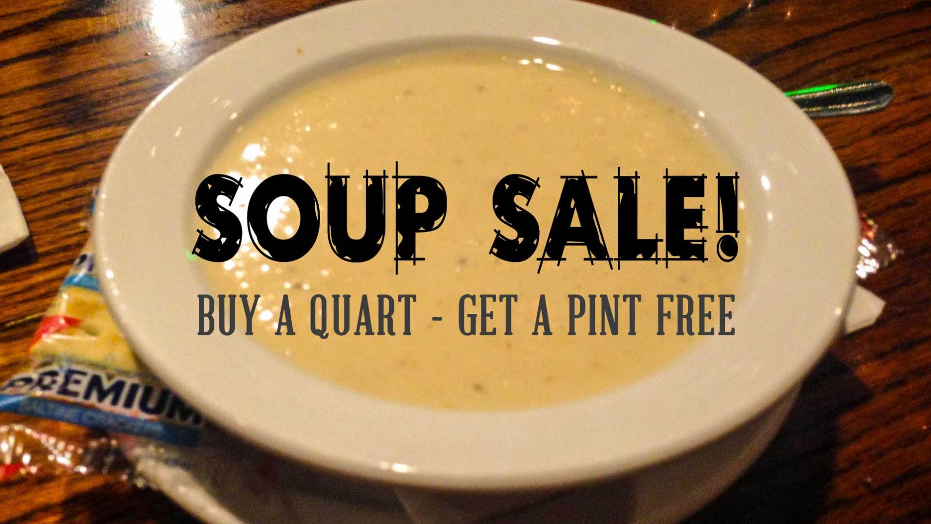 Soup Sale | Cooper's Seafood House