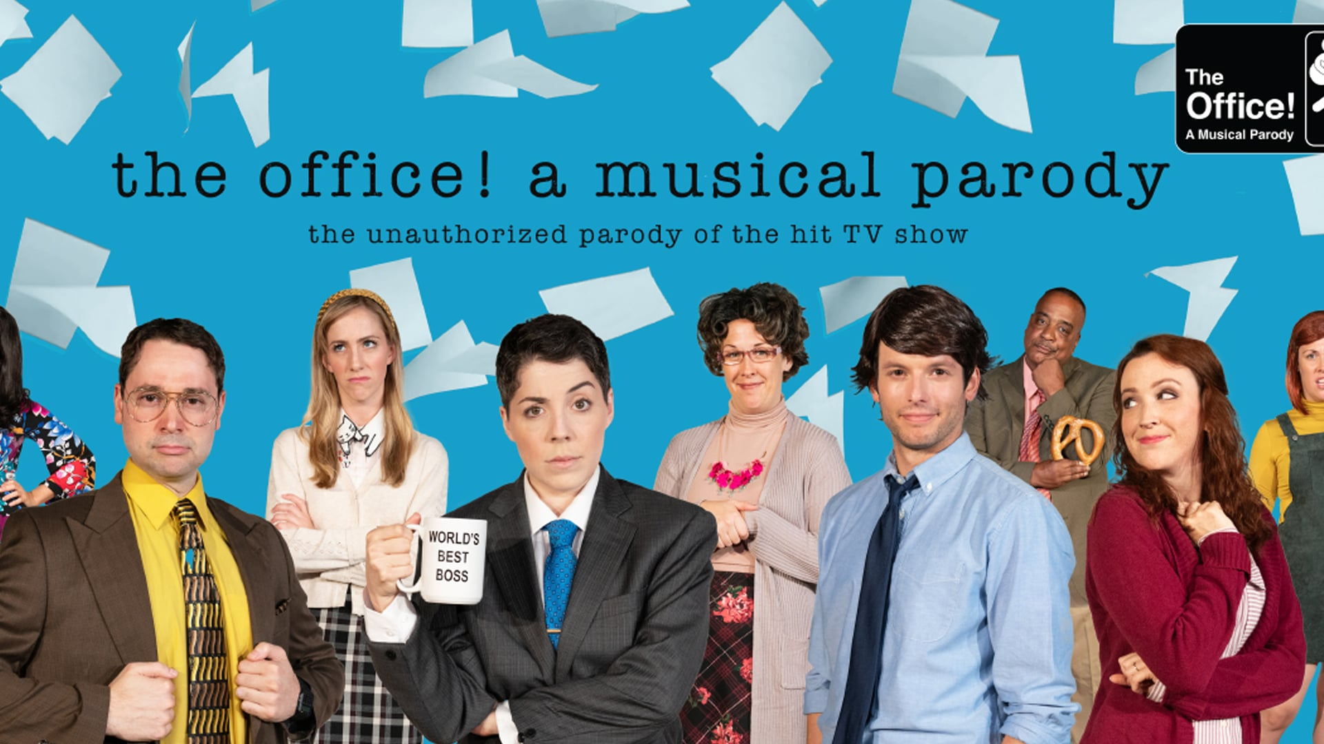 The Office! A Musical Parody Live at the Scranton Cultural Center - Masonic Temple