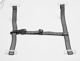 MSA Chinstrap With 4-Point Suspension For Use With V-Gard
