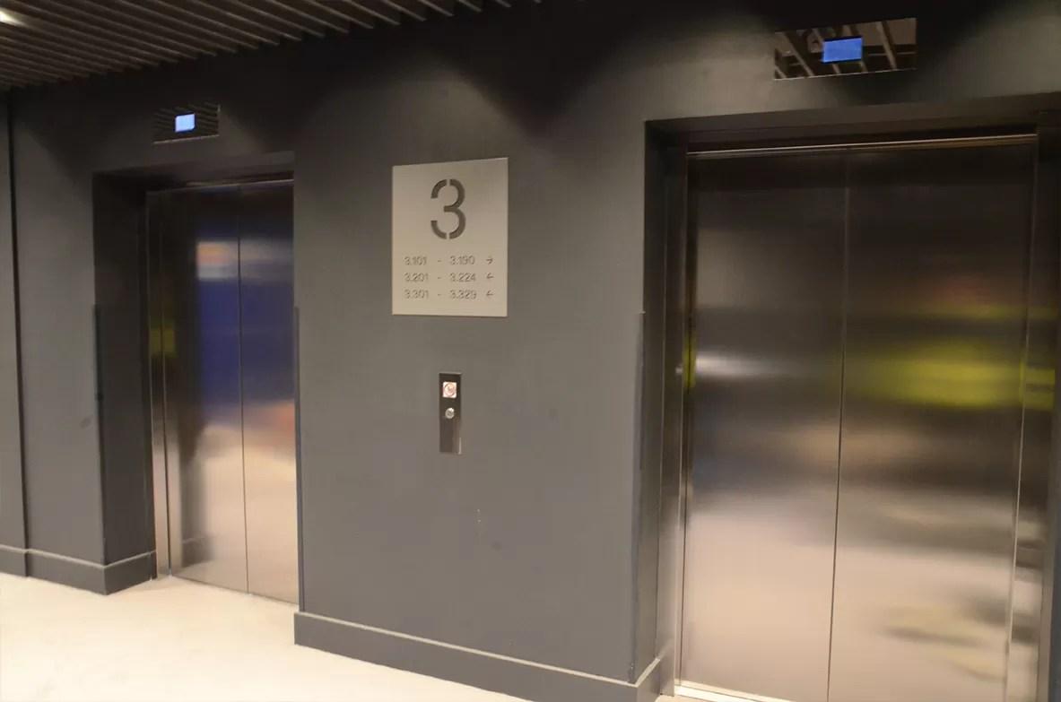 lifts lift lobbies fire curtains