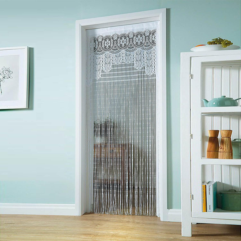 lace door curtain
