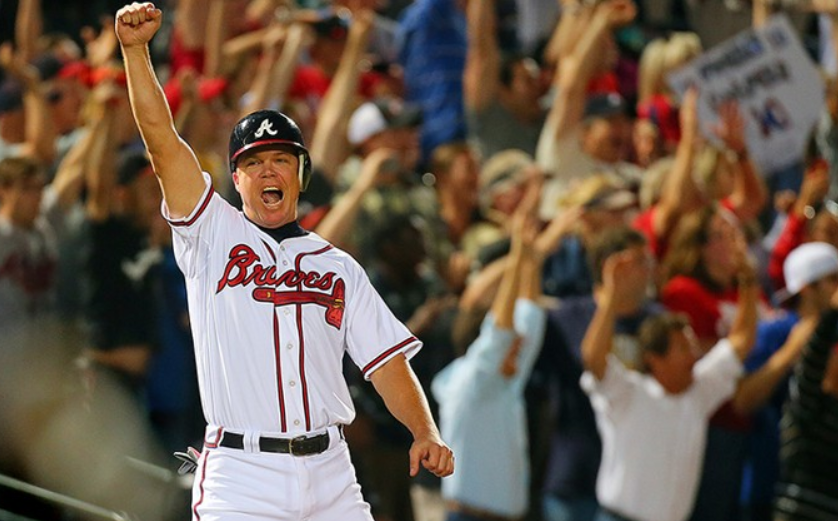 Chipper Jones 10 Hall Of Fame Moments Cooperstown Cred