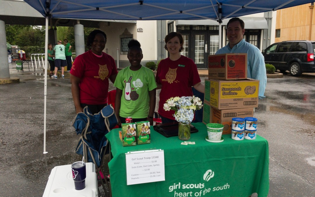 Thanks, Girl Scout Troop #13348 for keeping us Hydrated!