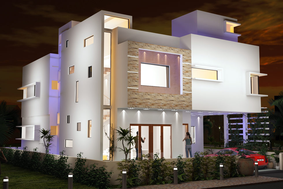 Coordinates Residential Projects Mayank Residence