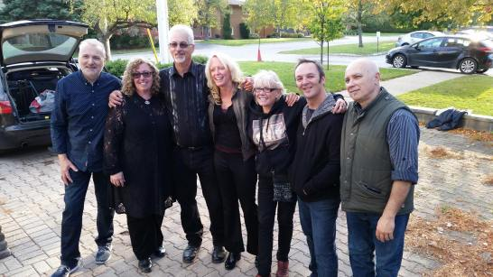 Cootes Paradise (and sound engineer extraordinaire Doug Smith 2nd from right)