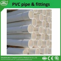 High quality pvc pipe and fittings with best price ...