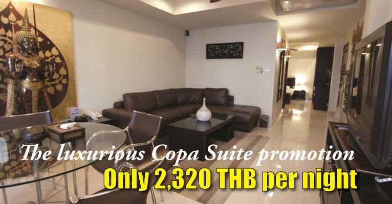 copa hotel pattaya copa suite high season promotion