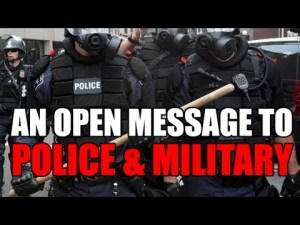 Open Message to POLICE