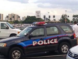 Cops, STOP parking in my spot !