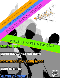 Peaceful Streets Project Aims to End Institutionalized Violence in Austin, TX