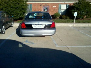 State Police Officer in Frankfort, KY Parks Illegally