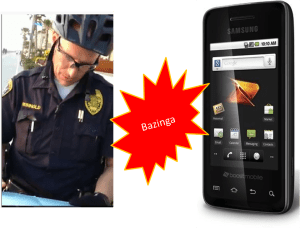 Officer Safety – Mobile Phones as Weapons