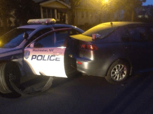 Did Rochester, NY Police officer Fall Asleep at the Wheel When he Crashed into a Parked Car?