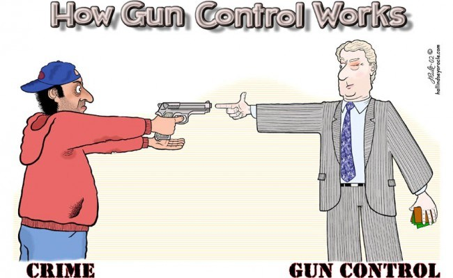 People should be educated in gun control