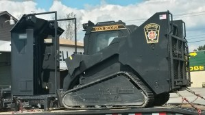 Pennsylvania State Police Acquire Riot Shield Vehicle with Tracks For…