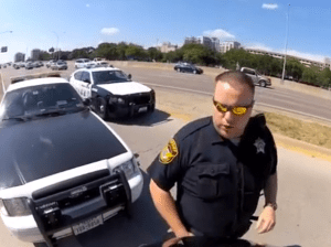 Wrongfully arrested motorcyclist sues Dallas County Sheriff's deputy for $1 million