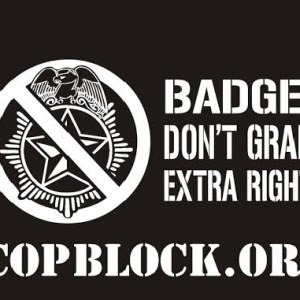 cop block gear back graphic
