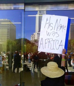 "*UPDATE* ""Justice for Africa"" Protests – More Photos and Video from Los Angeles"