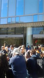 """Justice for Africa"" Protest Against Killer Cops – Photos and Video from LAPD HQ"