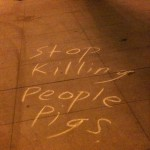 LAPD HQ Chalk10