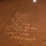 LAPD HQ Chalk12