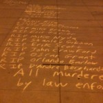 LAPD HQ Chalk8