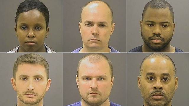 Freddy Gray Cops Indicted