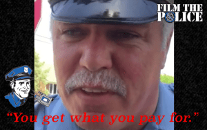 PA Cop Attempts To Intimidate Peaceful Animal Rights Activists