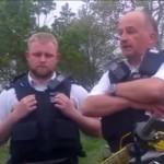 British Police Bike Thief