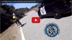 California Cop Terrorizes Multiple Cyclists On Narrow Road (Video)