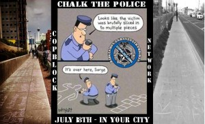 "Update on 2015 National ""Chalk the Police State"" Day Locations"
