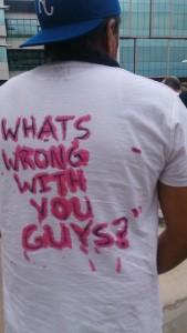 Paul Cataway Protest Denver