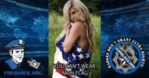 You Can't Wear Muh Flag!