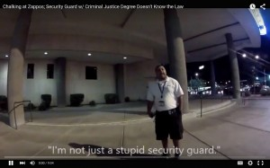 Stupid Security Guard Zappos Acme