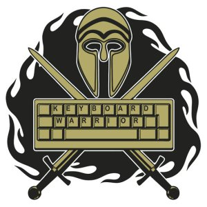 Design a killer Keyboard Warrior logo and I might get it tattooed on myself. Click image to submit.