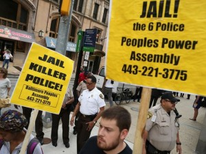 Freddie Gray Baltimore Protest