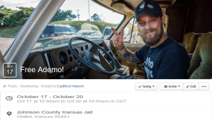 CALL FLOOD Ademo Freeman Kidnapped and Caged in Kansas