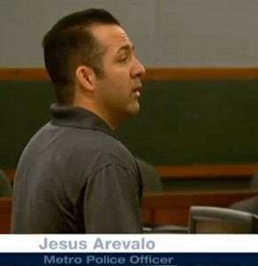 Jesus Arevalo LV Police Murder Stanley Gibson