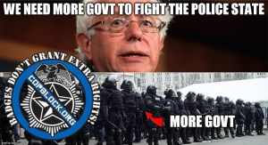 Bernie Sanders Loves The Police